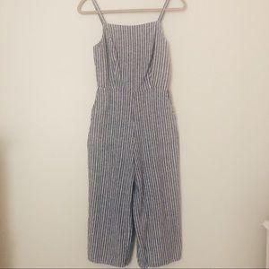 Striped nautical jumper